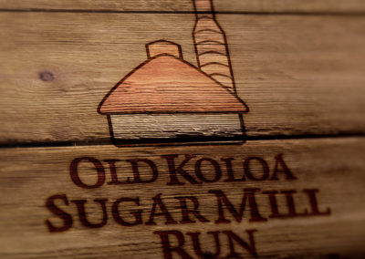 Old Koloa Sugar Mill Run Logo