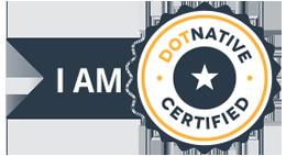 Academy of Digital Business Leaders Dot Native Digital Marketing Certified